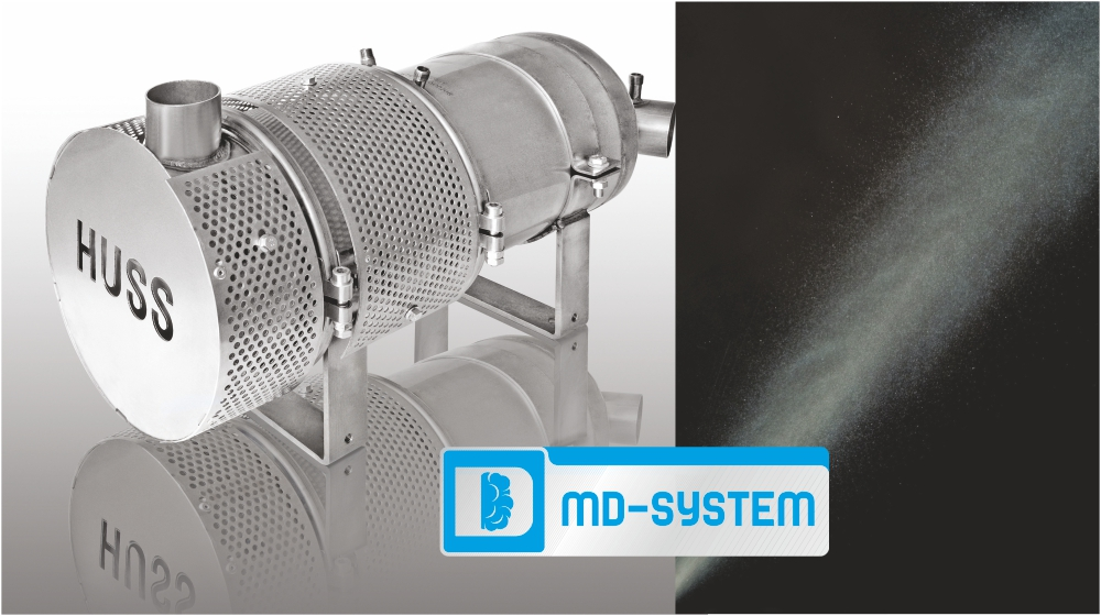MD post injection: hybrid system with active and passive regeneration combined