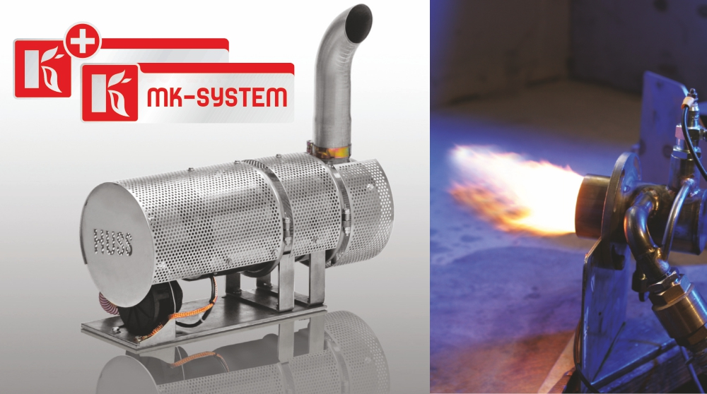 MK diesel burner: active regeneration, independent from the exhaust gas temperature