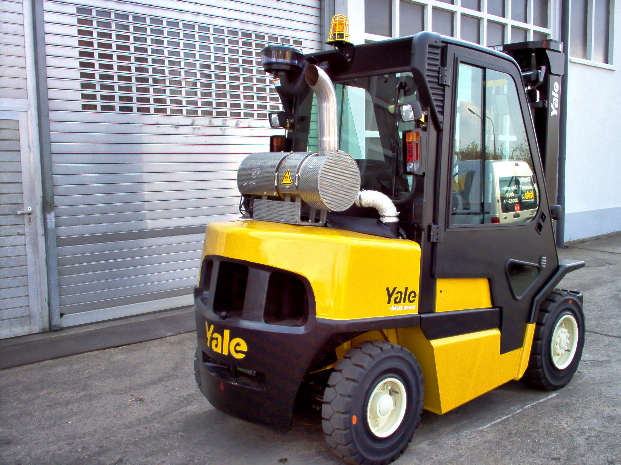 Yale forklift truck