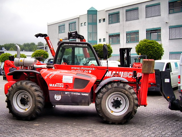 Manitou tractor