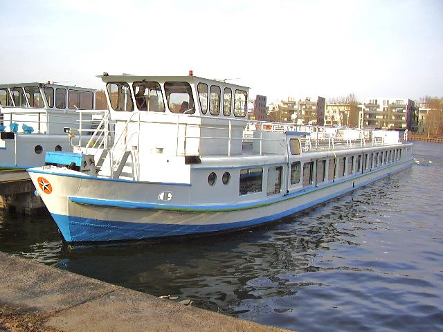 MS Friedrichshain tourist boat Berlin