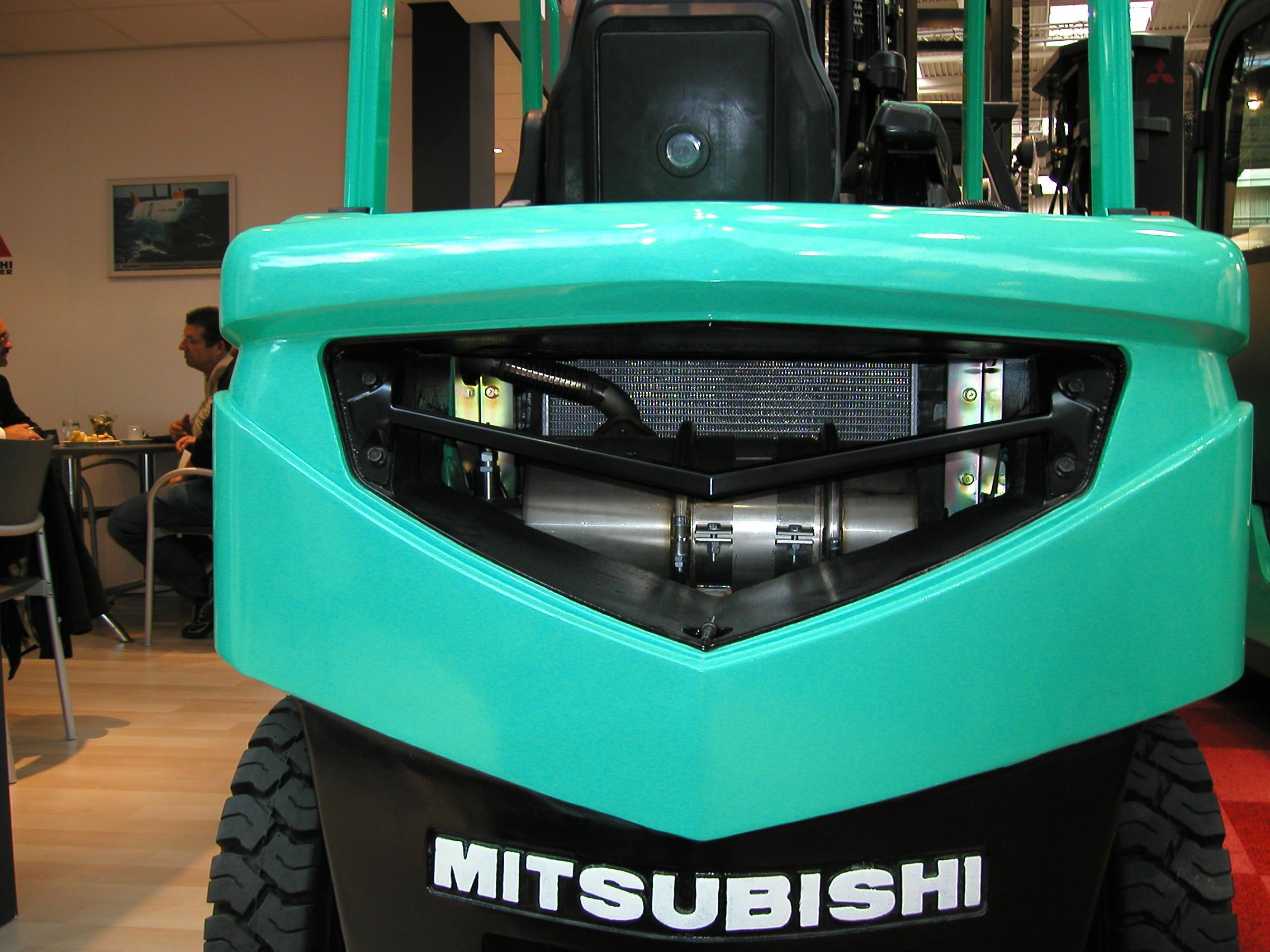 Mitsubishi forklift truck