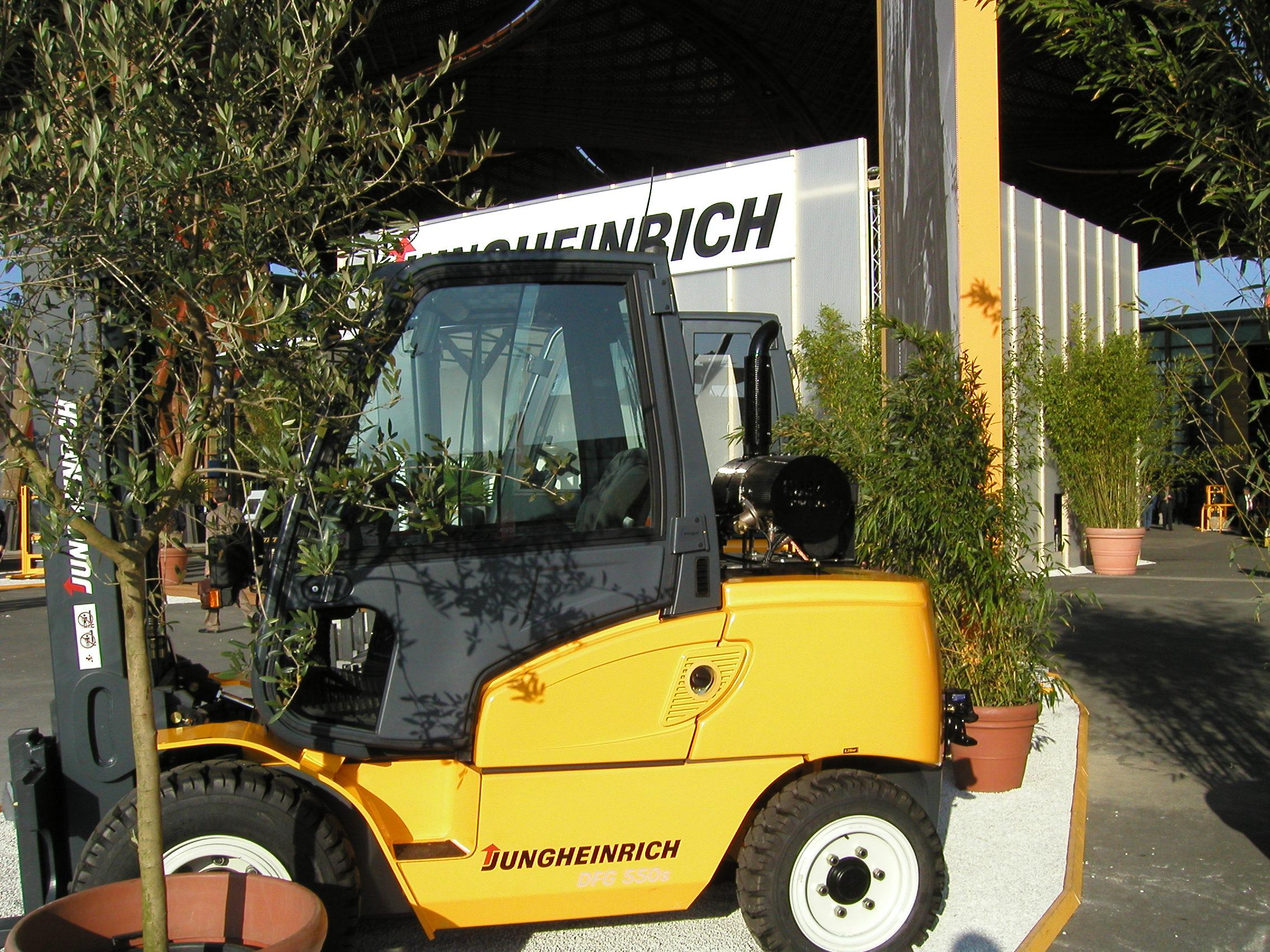 Jungheinrich forklift truck